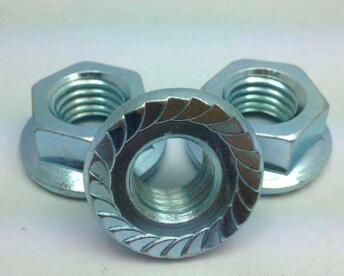 Piuliță cu flanșă hexagonală ANSI placată cu zinc a563