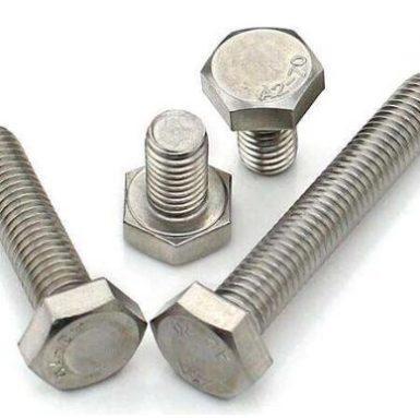 Șurub cu hexagonal DIN933 A2 70 din oțel inox 304 și 316