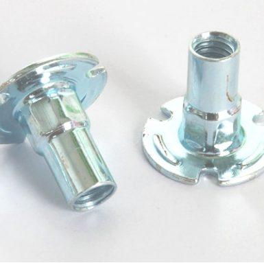Piuliță din oțel carbon alb zincat