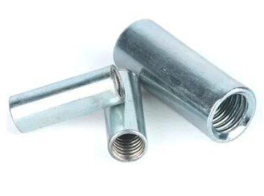 Piuliță de cuplare rotundă din oțel carbon placat cu zinc