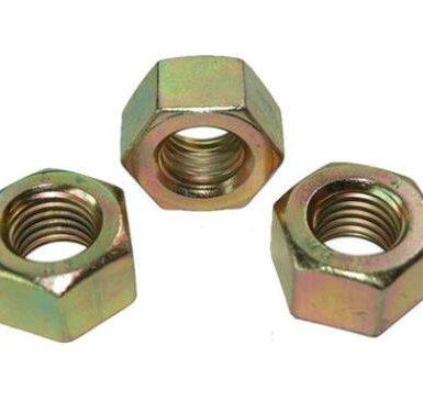 Piuliță hexagonală DIN934 placat cu zinc galben