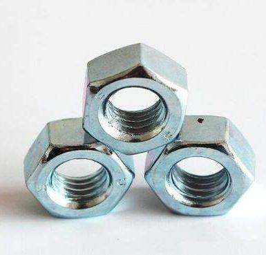 A563 Gr O piuliță hexagonală zincată DIN934